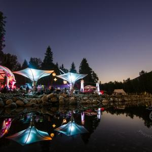 10 questions with Sara and Mike from the Living Room stage at Shambhala