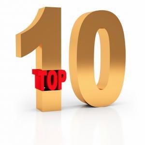 Top ten charts 2015